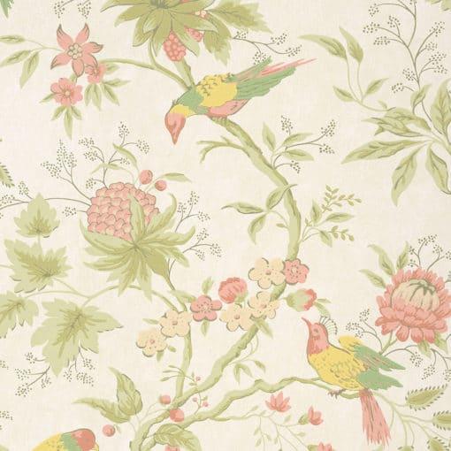 Little Greene Brooke House Cloth Wallpaper