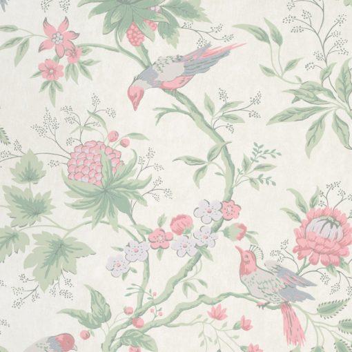 Little Greene Brooke House Linen Wallpaper
