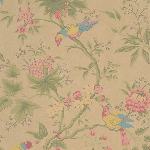 Little Greene Brooke House Parchment Wallpaper