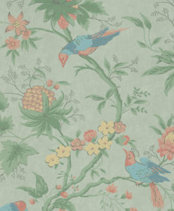 Little Greene Brooke House Silk Wallpaper