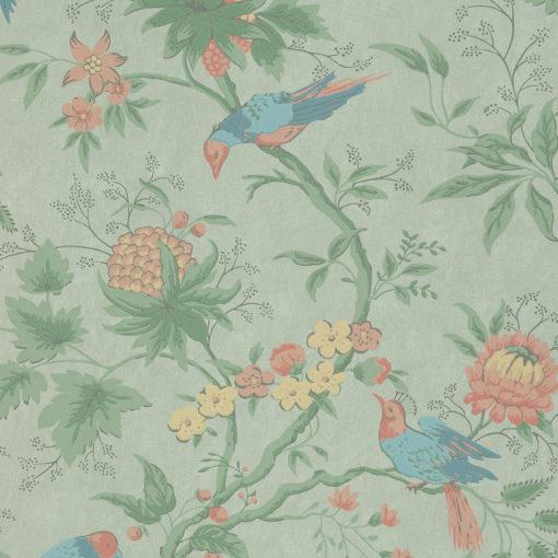 Little Greene Brooke House Silk Wallpaper