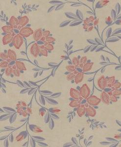 Little Greene Stitch Berry Wallpaper