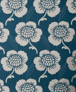Little Greene St James's Place Deep Blue Wallpaper