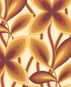 Little Greene Starflower Marigold Wallpaper