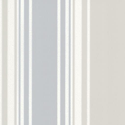 Little Greene Tented Stripe Rubine Ash Wallpaper