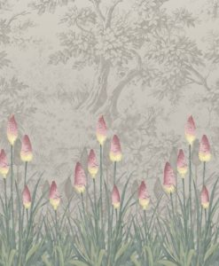 Little Greene Upper Brook Street Matin Wallpaper