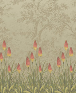 Little Greene Upper Brook Street Midi Wallpaper