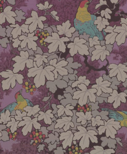 Little Greene Vine Rouge Wallpaper