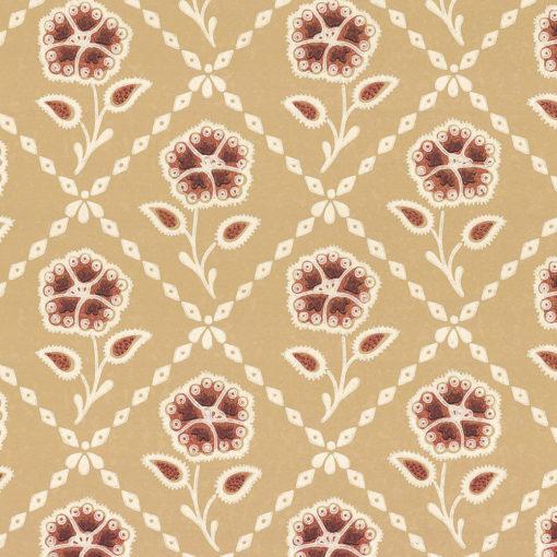 Little Greene Whitehall Cedar Wallpaper