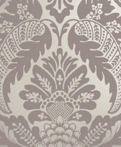 Little Greene Wilton Amethyst Wallpaper