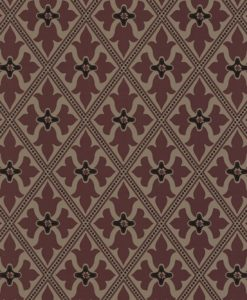Little Greene Bayham Abbey Monarch Wallpaper