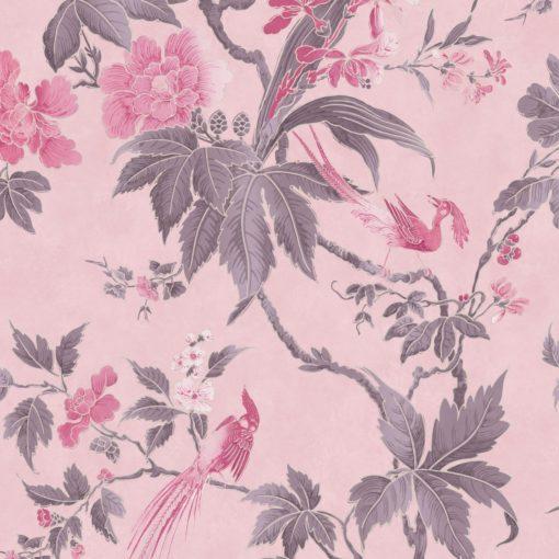 Little Greene Paradise Pink Wallpaper