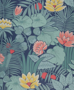 Little Greene Reverie Nile Wallpaper