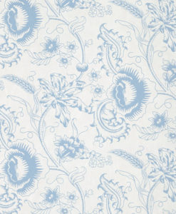 Little Greene Woodblock Mono Juniper Wallpaper
