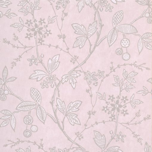 Little Greene Wrest Trail Pink Plaster Wallpaper