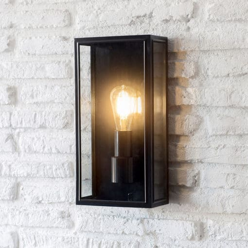 Belgrave Lantern Light - Tall (Steel & Glass)