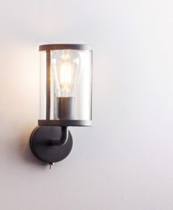 Cadogan Wall Light (Steel & Glass)