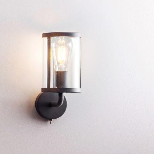 Cadogan Wall Light (Steel & Glass)