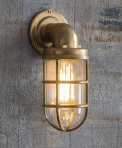 Devonport Down Light (Brass)