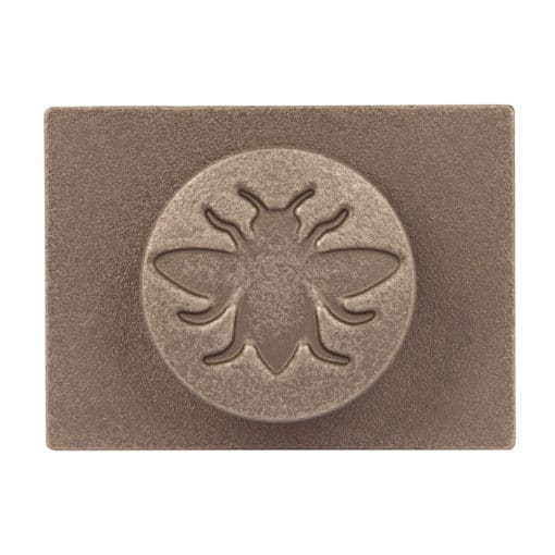 Castrads Whitworth Wall Stay (Natural Pewter)