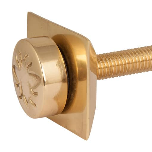 Castrads Whitworth Wall Stay (Polished Brass)
