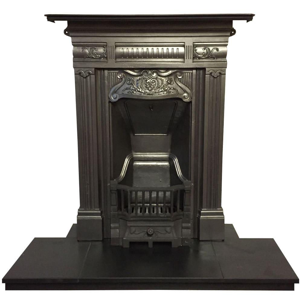 Art Nouveau Edwardian Bedroom Fireplace