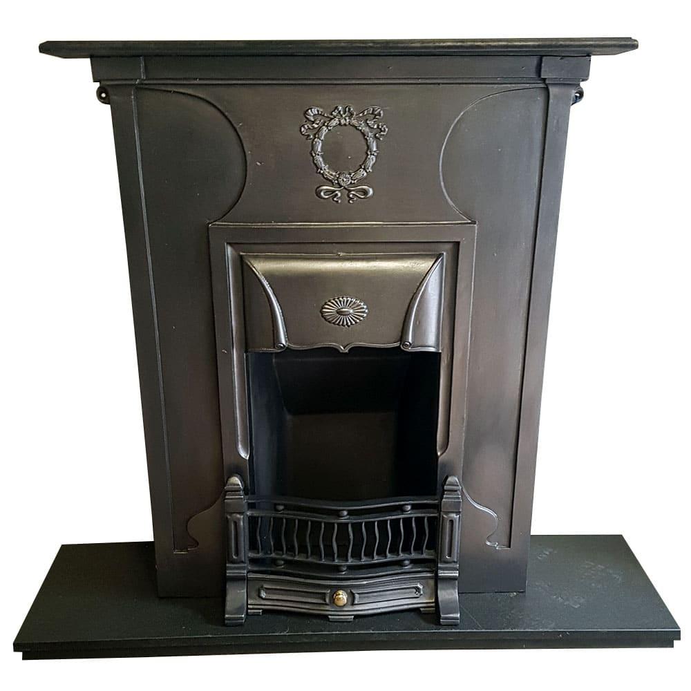 Antique Vintage Bedroom Fireplace: Fully Restored Antique Bedroom Fireplace