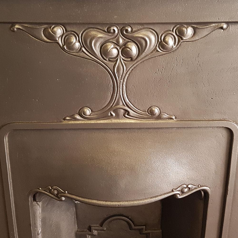 Antique Vintage Bedroom Fireplace: Original Bedroom Fireplace Antique For Sale