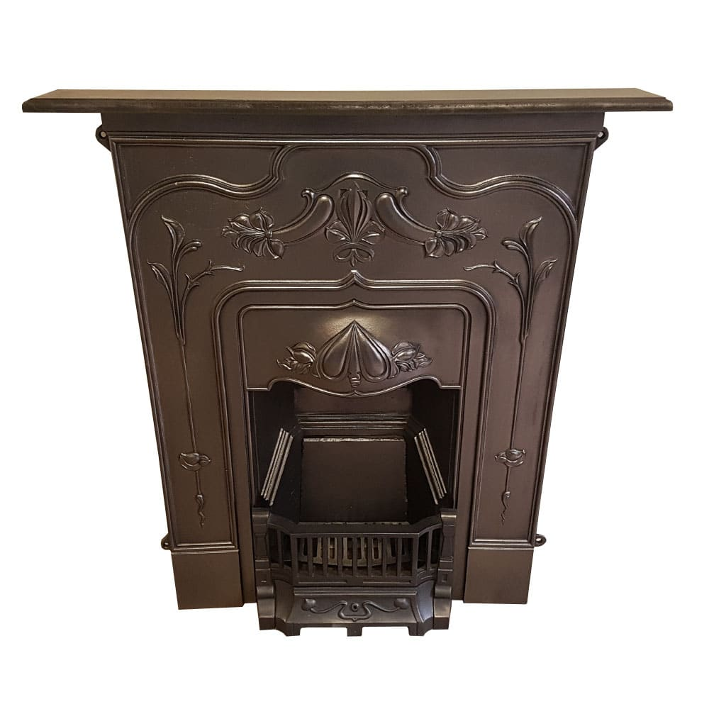 Miraculous Bed210 Antique Cast Iron Bedroom Fireplace 41H X 29 5W Home Interior And Landscaping Ologienasavecom