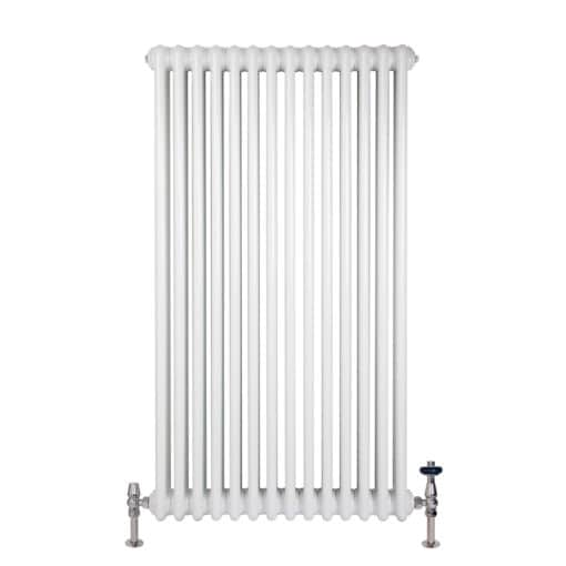 Florence 3 Column Steel Radiator - 1200mm Tall x 654mm Wide