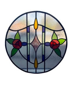 SG160 - 1930s Art Nouveau Stained Glass Design